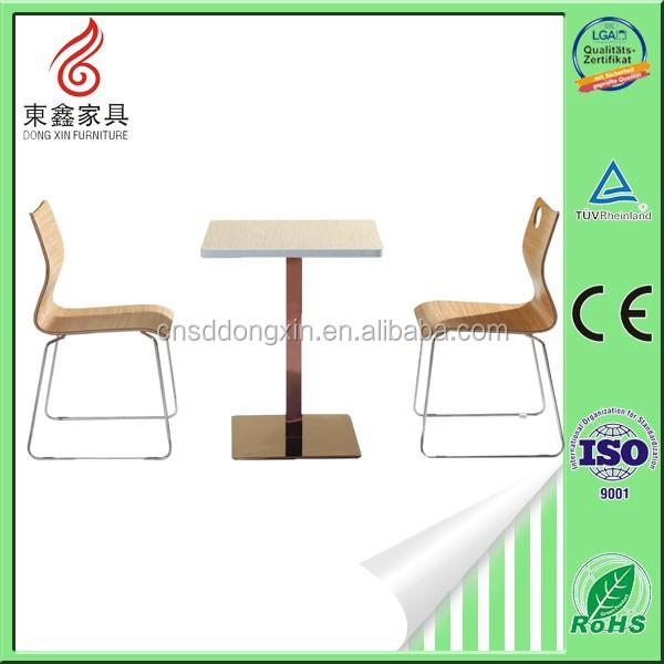 Discount Restaurant FurnitureAluminum Outdoor FurnitureCafeteria - Aluminum table and chairs for restaurant