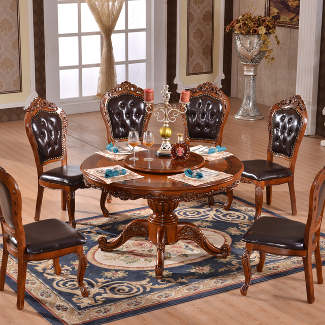 buy cheap china rubber wood dining table set products find china