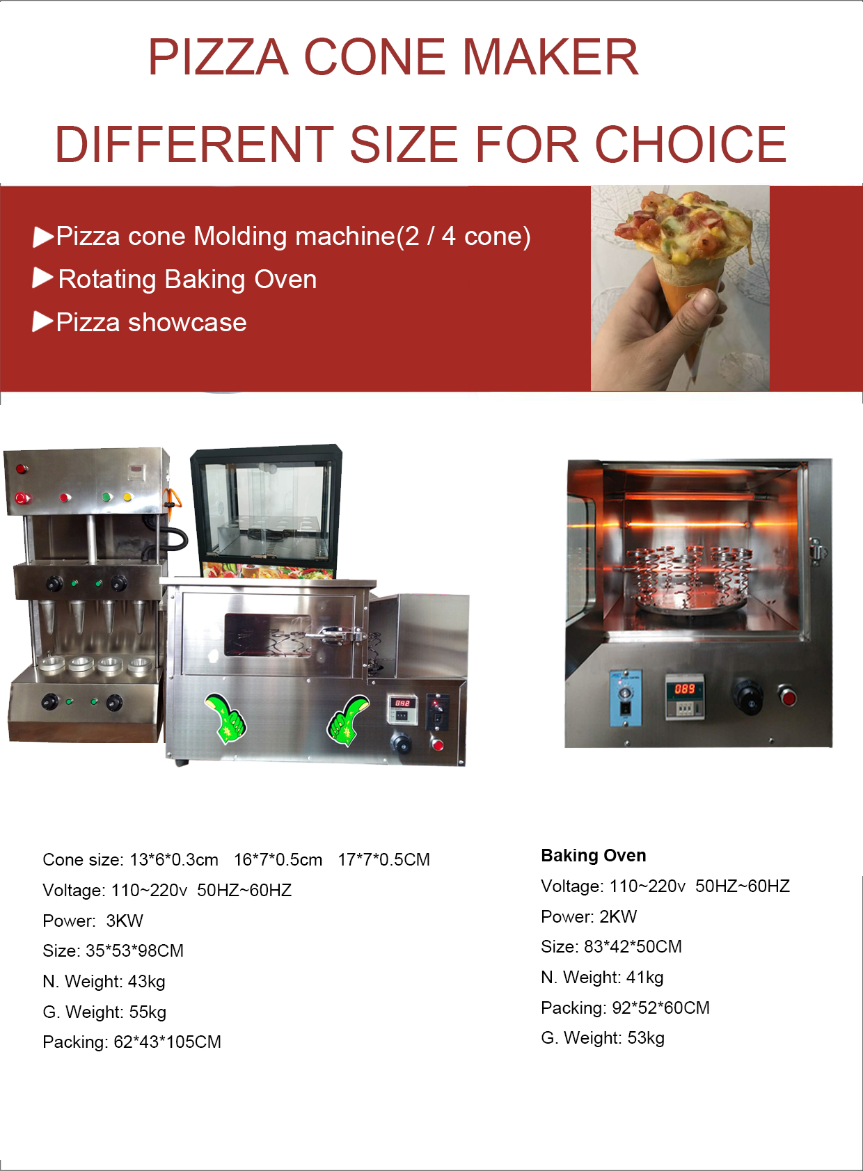 Automatic Incense Sugar Icecream Wafer Pizza Cone Press Making Machine Kono Maker Price Oven for Sale Warmer Showcase