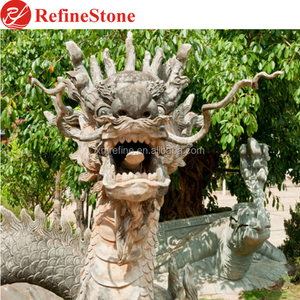 Chinese Dragon Garden Statue For Sale