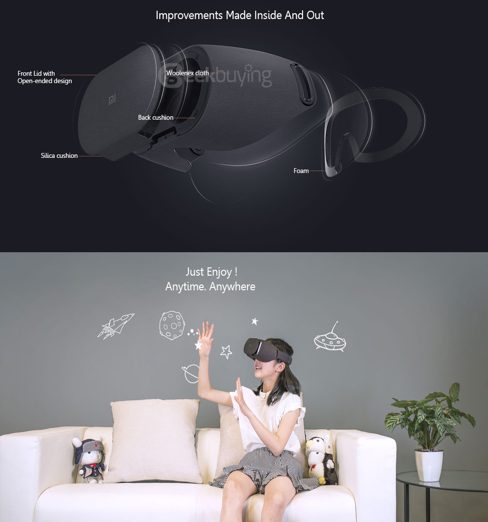 2019 Original Xiaomi Mi VR Play Immersive 3D Virtual Reality VR Headset