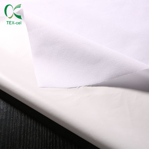 Microfiber Waterproof Laminated 100% Polyester Breathable Pongee Fabric