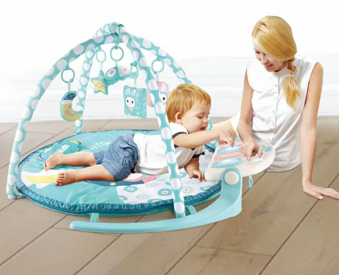 Wholesale Plastic Funny Kick Piano Activity Baby Play Mat Gym With