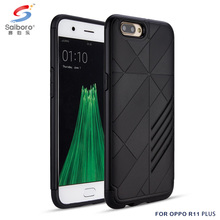 Popular style hybrid tpu pc mobile phone accessories case for oppo R11 plus