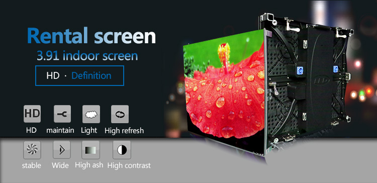China full color indoor advertising shenzhen truck led board display panel price