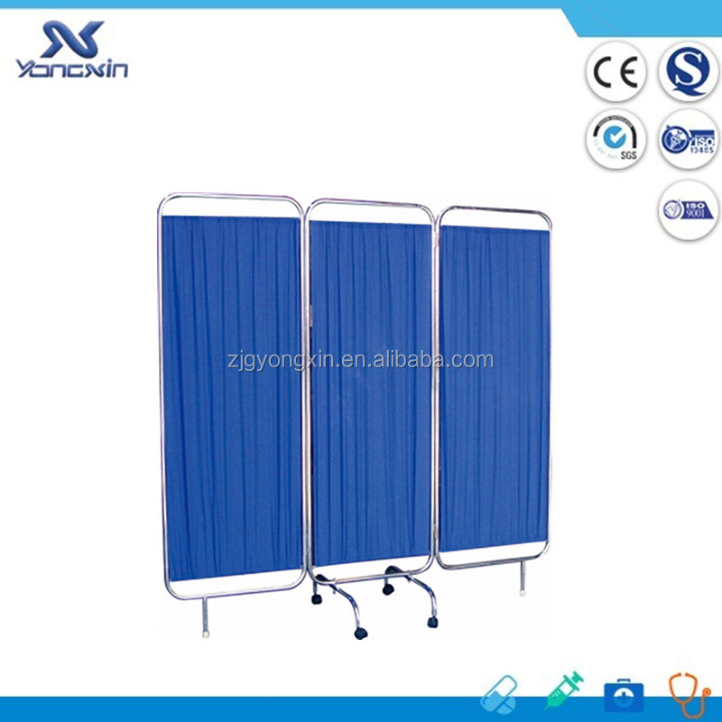YXZ-028 Hospital Furniture Medical ward Folding Bedside Screen