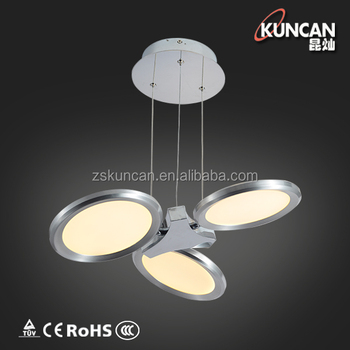 Luxury Living Room Dimmable Led Pendant Lights