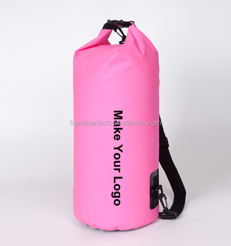 Custom Logo Dry Bag Waterproof Dry Backpack for Outdoor Camping Super Floating Drybag Backpack Kayak Accessary Free Sample
