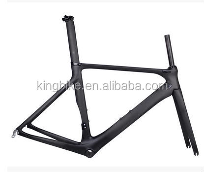 700C Super light carbon/alloy frame with fork/ Carbon road bike frame 505mm/535mm/565mm KB-P-M01