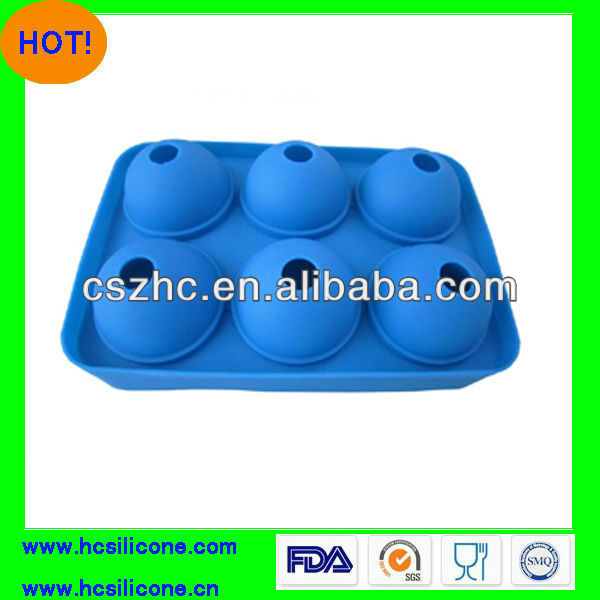 BSCI audit fty Cute Shape 100% COOL Mcdonald Supplier FGA/FGB Standard Silicone ice ball