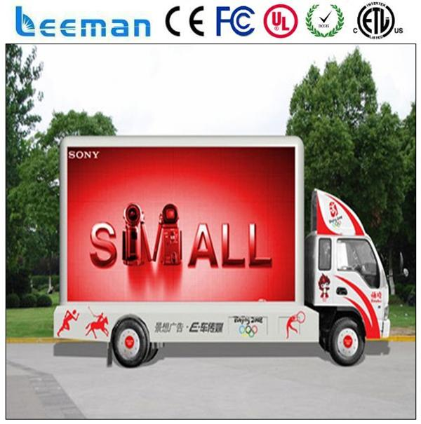 outdoor advertising led vehicles china manufacturer high definition p4 indoor advertising led display