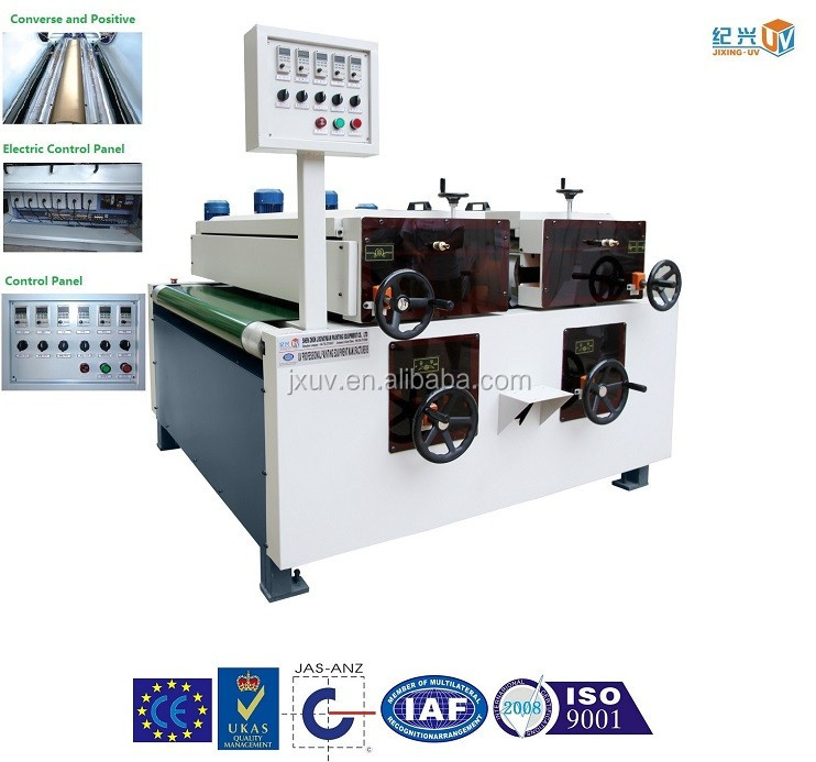 UV Coating line for 1000mm Full Precision Converse and Positive Roller Coater