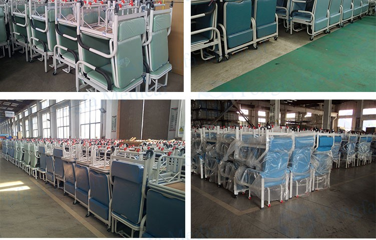 Competitive Price Hospital Furniture Folding Medical Reclining Chair