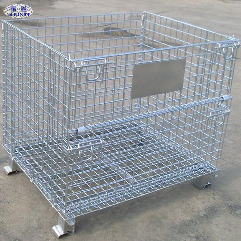 Foldable Wire Storage Cage, Foldable Wire Storage Cage Suppliers and ...