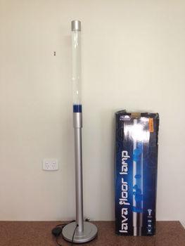 Floor Lava Lamp View Rocket