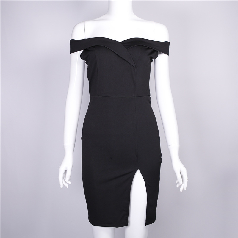 d187e0bd724ae W9651 2018 Wholesale Cheap Summer Fashion Women Sexy Off Shoulder Bodycon  Dresses