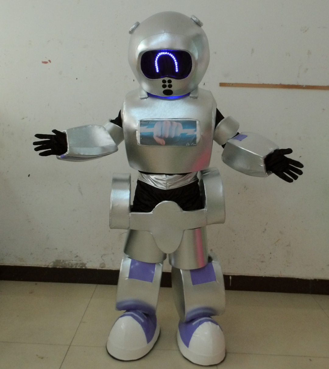 New style led costume robot for sale фото