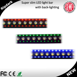 30w single chip spot LED car decor light bar green LED mini light bar