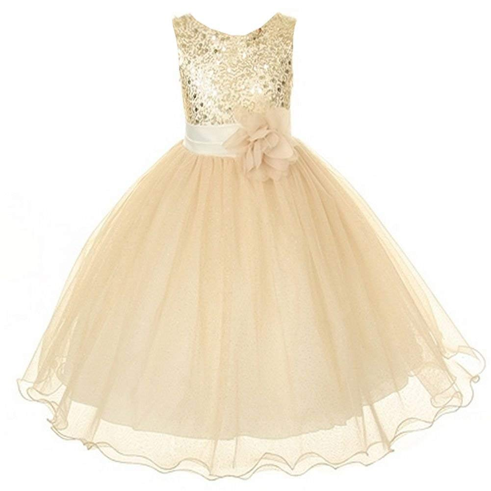 d72552819df3 Cheap Dark Gold Sequin Dress