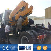 Heavy Duty Folding Boom Truck Railway Crane Manufacturers