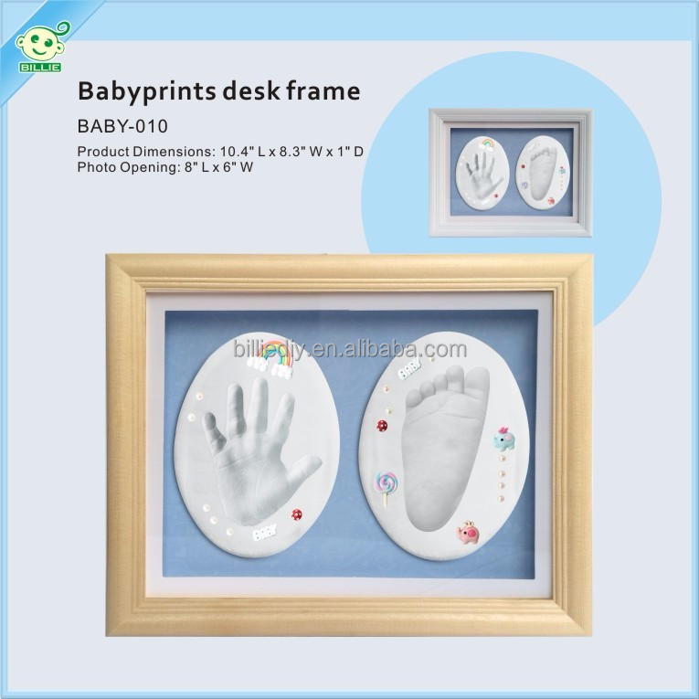 new impressions hand print keepsake kit with frame
