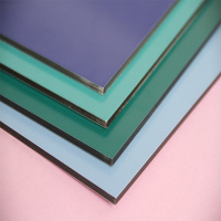 Green Leaf certificate pvdf coate surface composite sheets for sale aluminium composite panel technical specification