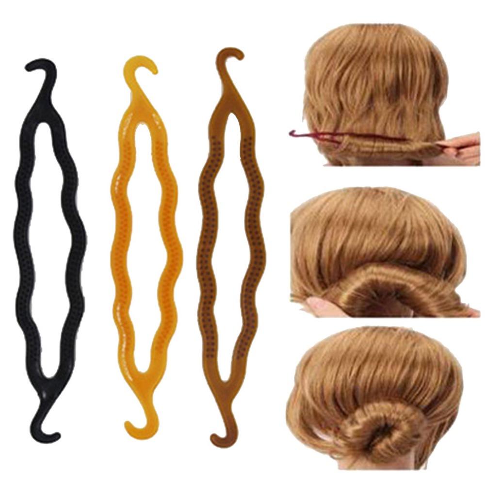 Incredible Easy Hair Bun Styling Tools Best Hairstyles 2017 Hairstyles For Men Maxibearus