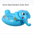 Adjustable Infant Safety Swimming Ring Cute Animal Kids Baby Swim Ring Inflatable Floating Neck Float Water