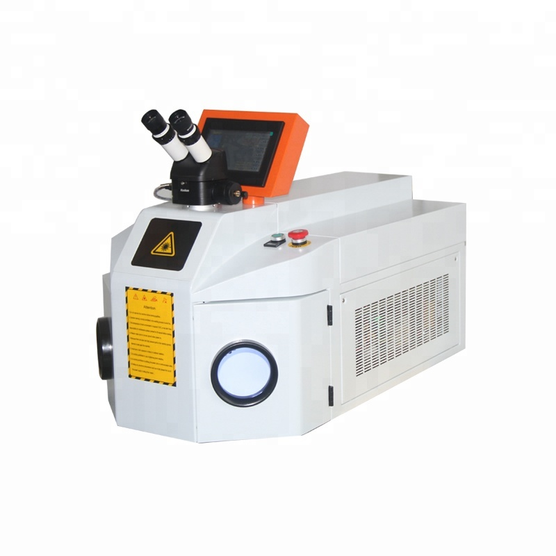 OPTIC TECH Factory Price Stainless Steel Gold Jewelry Jewellery Desktop Laser Welding Machine For Metal