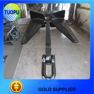Wholesale boat accessories N type Heavy high holding power Duty Pool Anchor