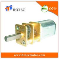 Long life low noise reversible N20 12mm mini 3V micro gear box motor