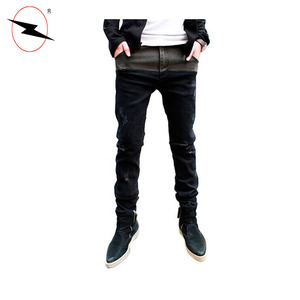 Clothing industry men's hot sale new fashion jeans 2017 jeans men