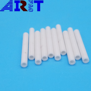 High quality high purity ZrO2 / Zirconia / Zirconium Oxide ceramic tubes