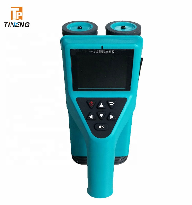 Tp-R800 NDT Equipments concrete scanner steel cover meter to scan steel bar location