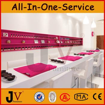 china manufacturer oem pink nail manicure table nail salon. Black Bedroom Furniture Sets. Home Design Ideas