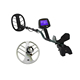 "treasures hunting gold metal detector with 15"" search coil"