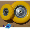 200mm pu solid wheel with factory price