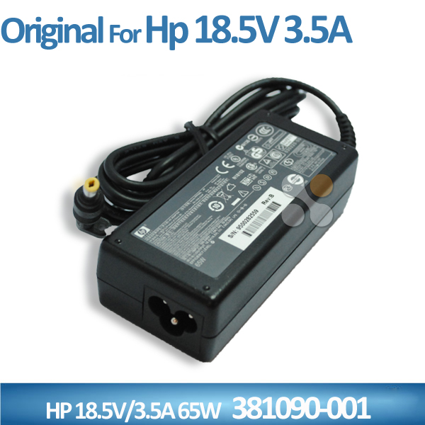 Brand new for HP 65W 18.5V 3.5A AC Adapter PA-1650-02HP P/N 0957-2257 SPARE 381090-001