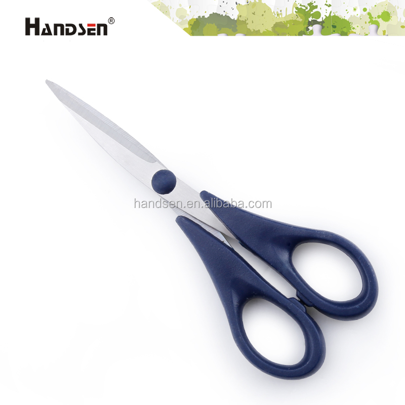 "7"" plastic handle different description of scissors"