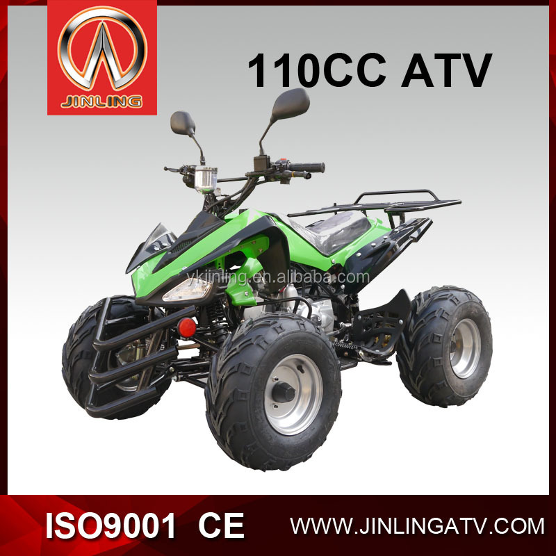 4 wheel atv quad bike 110cc