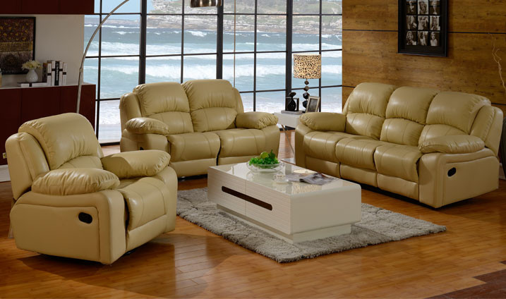 Yellow color very cheap couch livingroom sleeper recliner for Really cheap living room furniture