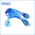 PS transparent frog shape hand manual body massager