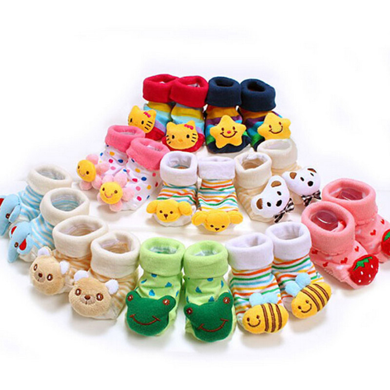SCYL Baby Anti Slip Newborn 0 6Month Cotton Lovely Cute Shoes Animal Cartoon Slippers Boots Boy
