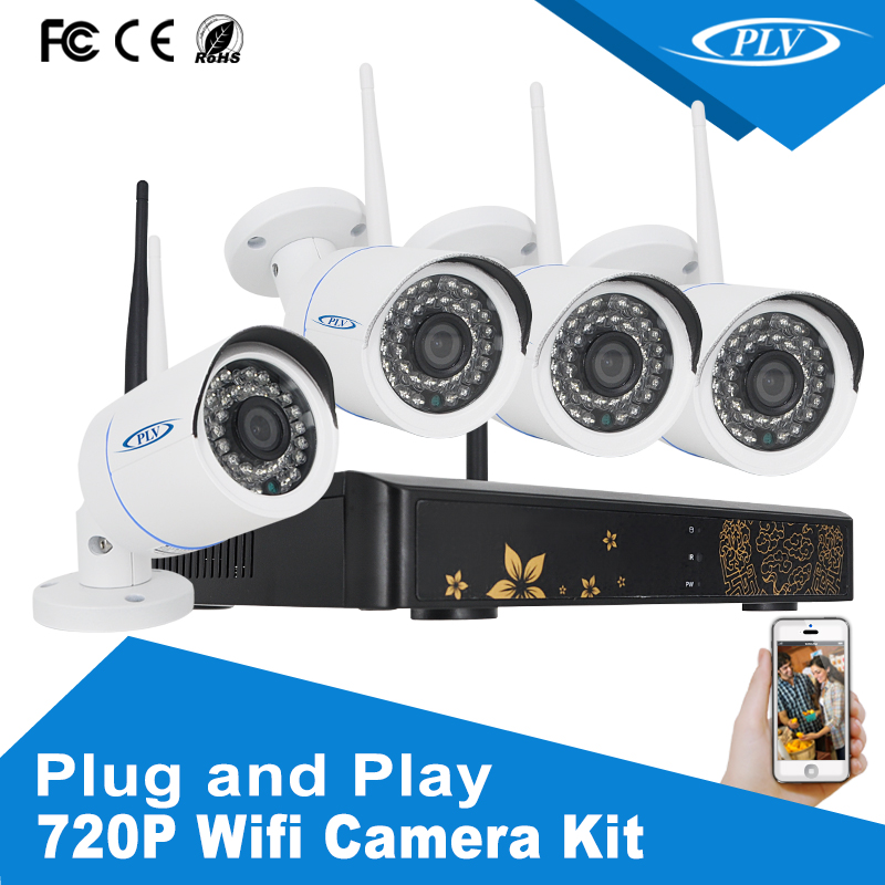 Total vision h.264 4ch dvr combo cctv camera kit for wholesale on Alibaba surround view camera system
