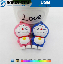 New Cute Doraemon Shape 8GB USB 2.0 Flash drive Stick PVC U Disk