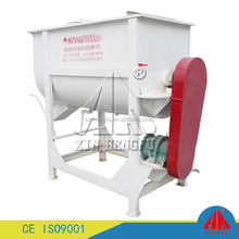dry powder Horizontal Ribbon mixer /industrial mixer and blender machine/dry mortar powder mixer