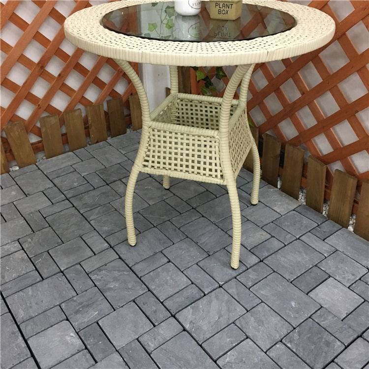 Garden Use Non Slip Balcony Stone Floor Outdoor Decking Tiles Buy