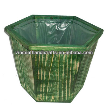 Garden Decoration Natural Hexagon Vintage Rustic Wooden Planter With on glass liners, tray liners, bed liners, bucket liners, truck liners, plant liners, table liners, fireplace liners, basket liners, polycarbonate liners, tank liners, cabinet liners, box liners, rug liners, container liners, pot liners, shelf liners, plastic liners, pipe liners,