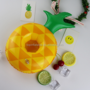 Accept custom order lovely floating drink ice box pool inflatable cold drink plastic tray