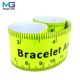 Russia style custom printing reflective wristband ruler slap bracelet for student